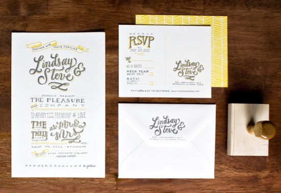 Yellow-Gray-Hand-Lettered-Wedding-Invitations-Molly-Jacques9
